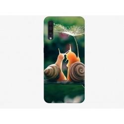 Husa Silicon Soft BS Print, Snails, Samsung Galaxy A50