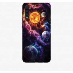 Husa Silicon Soft BS Print, Univers, Samsung Galaxy A50