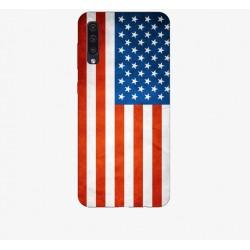 Husa Silicon Soft BS Print, USA, Samsung Galaxy A50