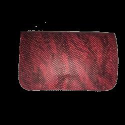 Geanta din piele naturala N04 Red Snake