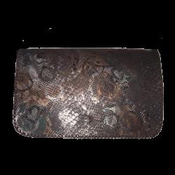 Geanta din piele naturala N04 Brown Snake