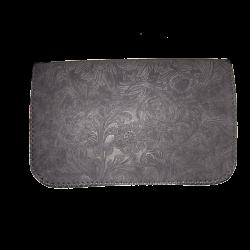 Geanta din piele naturala N04 Dark Gray PR