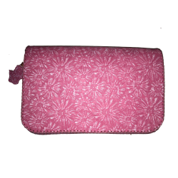 Geanta din piele naturala N04 Pink F