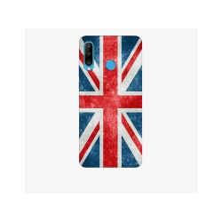 Husa Silicon Soft BS Print, England, Huawei P30 Lite