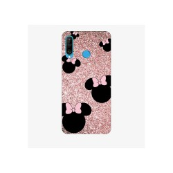 Husa Silicon Soft BS Print, Glitter Minnie, Huawei P30 Lite
