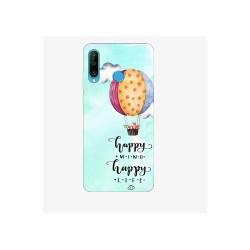 Husa Silicon Soft BS Print, Happy, Huawei P30 Lite