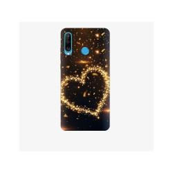 Husa Silicon Soft BS Print, Heart1, Huawei P30 Lite