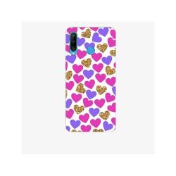 Husa Silicon Soft BS Print, Hearts2, Huawei P30 Lite