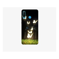 Husa Silicon Soft BS Print, Lighting Butterfly, Huawei P30 Lite