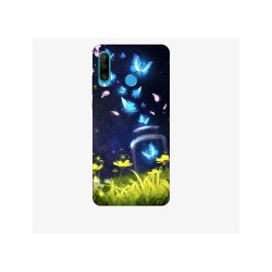 Husa Silicon Soft BS Print, Lighting Butterfly1, Huawei P30 Lite