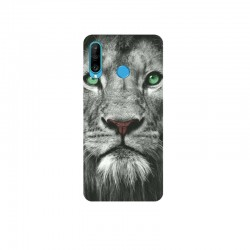 Husa Silicon Soft BS Print, Lion, Huawei P30 Lite
