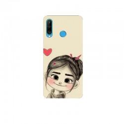 Husa Silicon Soft BS Print, Little Girl, Huawei P30 Lite