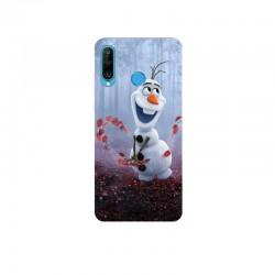 Husa Silicon Soft BS Print, Olaf, Huawei P30 Lite