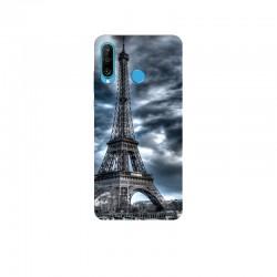 Husa Silicon Soft BS Print, Paris, Huawei P30 Lite