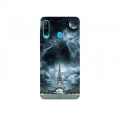 Husa Silicon Soft BS Print, Paris1, Huawei P30 Lite