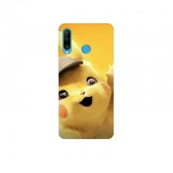 Husa Silicon Soft BS Print, Pikachu, Huawei P30 Lite