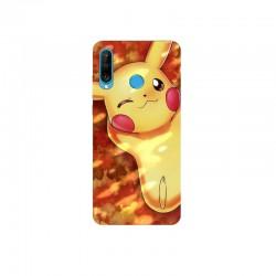 Husa Silicon Soft BS Print, Pikachu1, Huawei P30 Lite