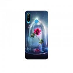 Husa Silicon Soft BS Print, Roses, Huawei P30 Lite