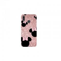 Husa Silicon Soft BS Print, Glitter Minnie, Huawei P20 Lite