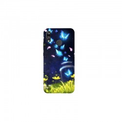 Husa Silicon Soft BS Print, Lighting Butterfly1, Huawei P20 Lite
