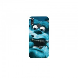 Husa Silicon Soft BS Print, Monsters, Huawei P20 Lite