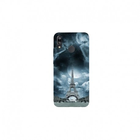 Husa Silicon Soft BS Print, Paris1, Huawei P20 Lite