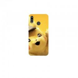 Husa Silicon Soft BS Print, Pikachu, Huawei P20 Lite