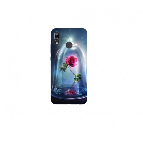 Husa Silicon Soft BS Print, Roses, Huawei P20 Lite