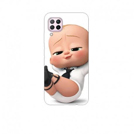 Husa Silicon Soft BS Print, Baby Boss, Huawei P40 Lite