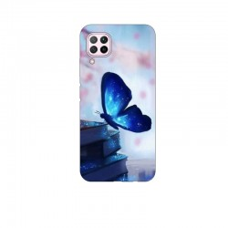 Husa Silicon Soft BS Print, Butterfly1, Huawei P40 Lite