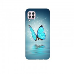 Husa Silicon Soft BS Print, Butterfly2, Huawei P40 Lite