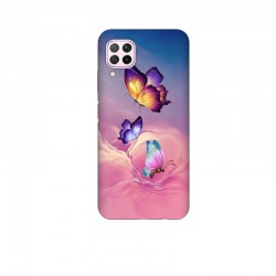 Husa Silicon Soft BS Print, Butterfly3, Huawei P40 Lite