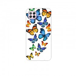Husa Silicon Soft BS Print, Butterfly4, Huawei P40 Lite