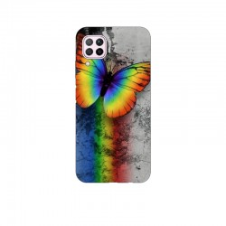 Husa Silicon Soft BS Print, Butterfly5, Huawei P40 Lite