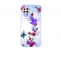 Husa Silicon Soft BS Print, Butterfly6, Huawei P40 Lite