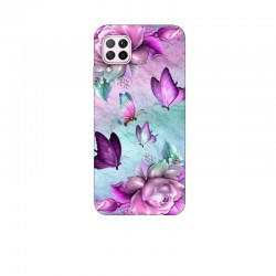 Husa Silicon Soft BS Print, Butterfly7, Huawei P40 Lite