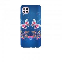 Husa Silicon Soft BS Print, Butterfly10, Huawei P40 Lite