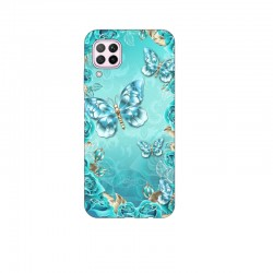 Husa Silicon Soft BS Print, Butterfly11, Huawei P40 Lite