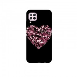 Husa Silicon Soft BS Print, Diamond Heart1, Huawei P40 Lite
