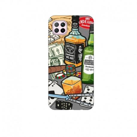 Husa Silicon Soft BS Print, Game, Huawei P40 Lite