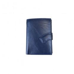 Portofel din piele naturala B720 Blue