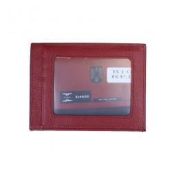 Port Carduri Din Piele Naturala B10 Red