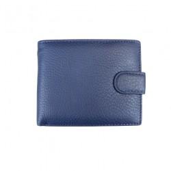 Portofel din piele naturala F052 Blue