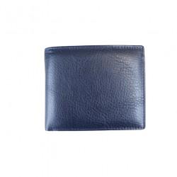 Portofel din piele naturala F056 Blue
