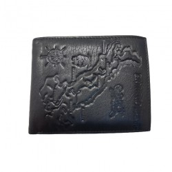 Portofel din piele naturala G-M002 Negru