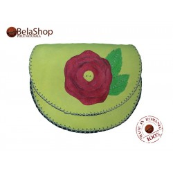 TOLBA MARY LIME RED ROSE