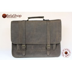 GEANTA POSTMAN BIG BROWN VINTAGE NN