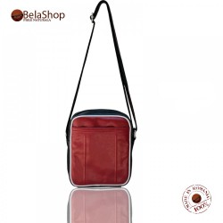 GEANTA CB 01- R A B LEATHER CROSSBODY BAG