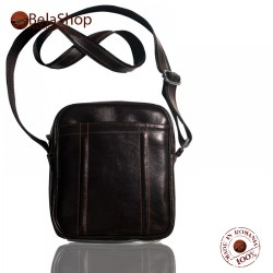 GEANTA CB 01-BROWN LEATHER CROSSBODY BAG