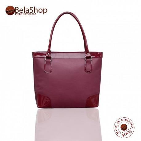 GEANTA MC18 - Marsala Leather